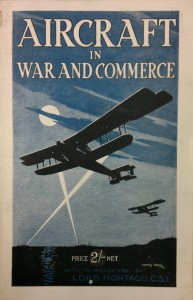 "Cover of ""Aircraft in War and Commerce"" 1918."