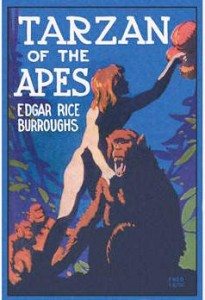 Tarzan of the Apes cover - British edition 1917
