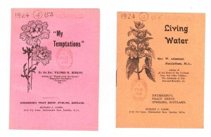 Typical non-illustrated tracts